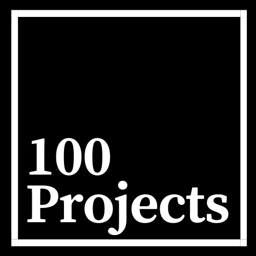 100 Projects Logo
