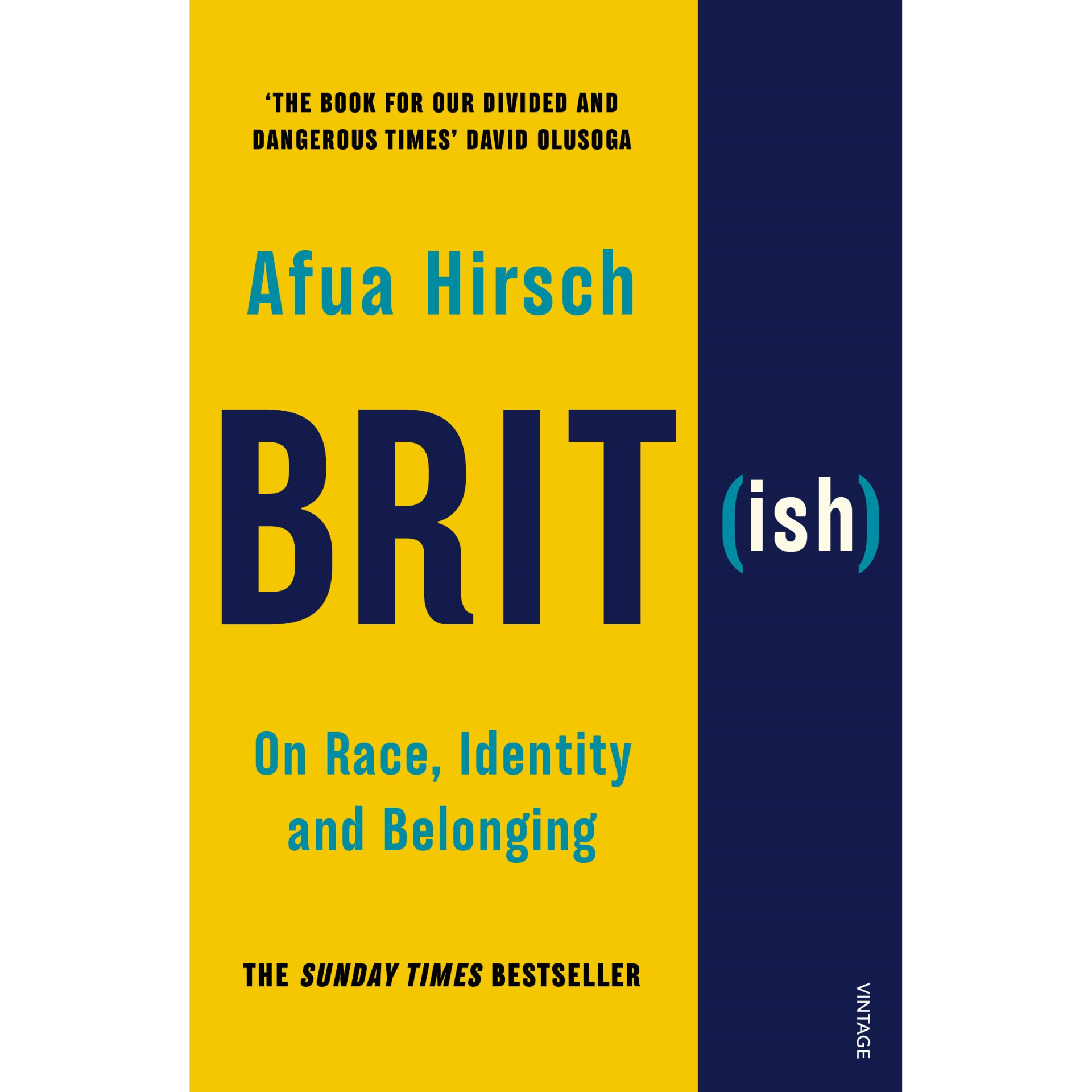 Book: Brit(ish) On Race, Identity and Belonging by Afua Hirsch