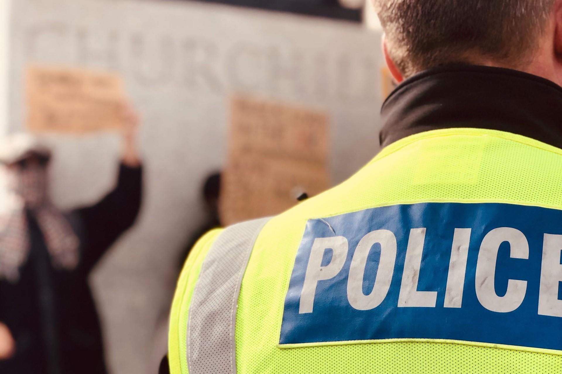 Black officers make up just 1.2% of the police forces.