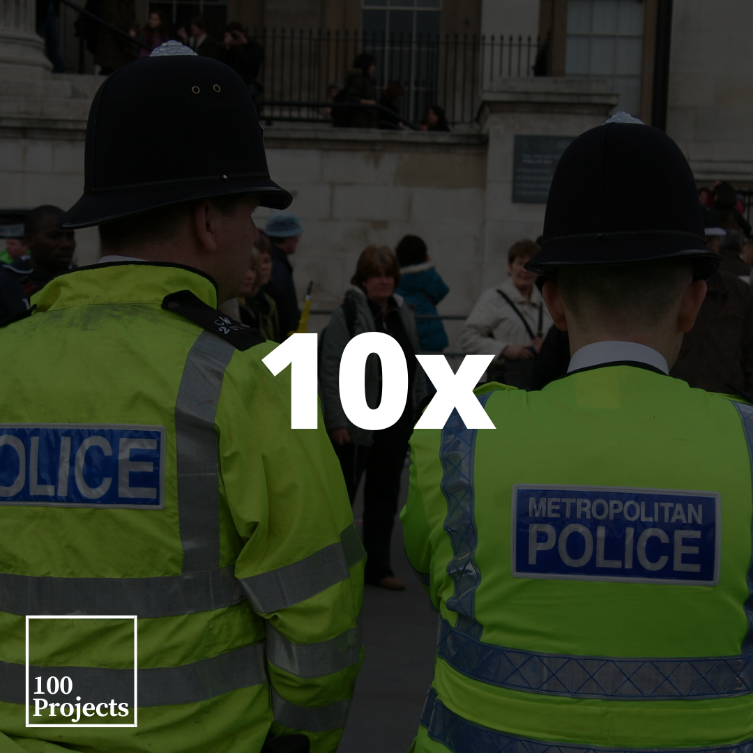 In England and Wales, Black people are nearly 10 times more likely to be stopped and searched by the police