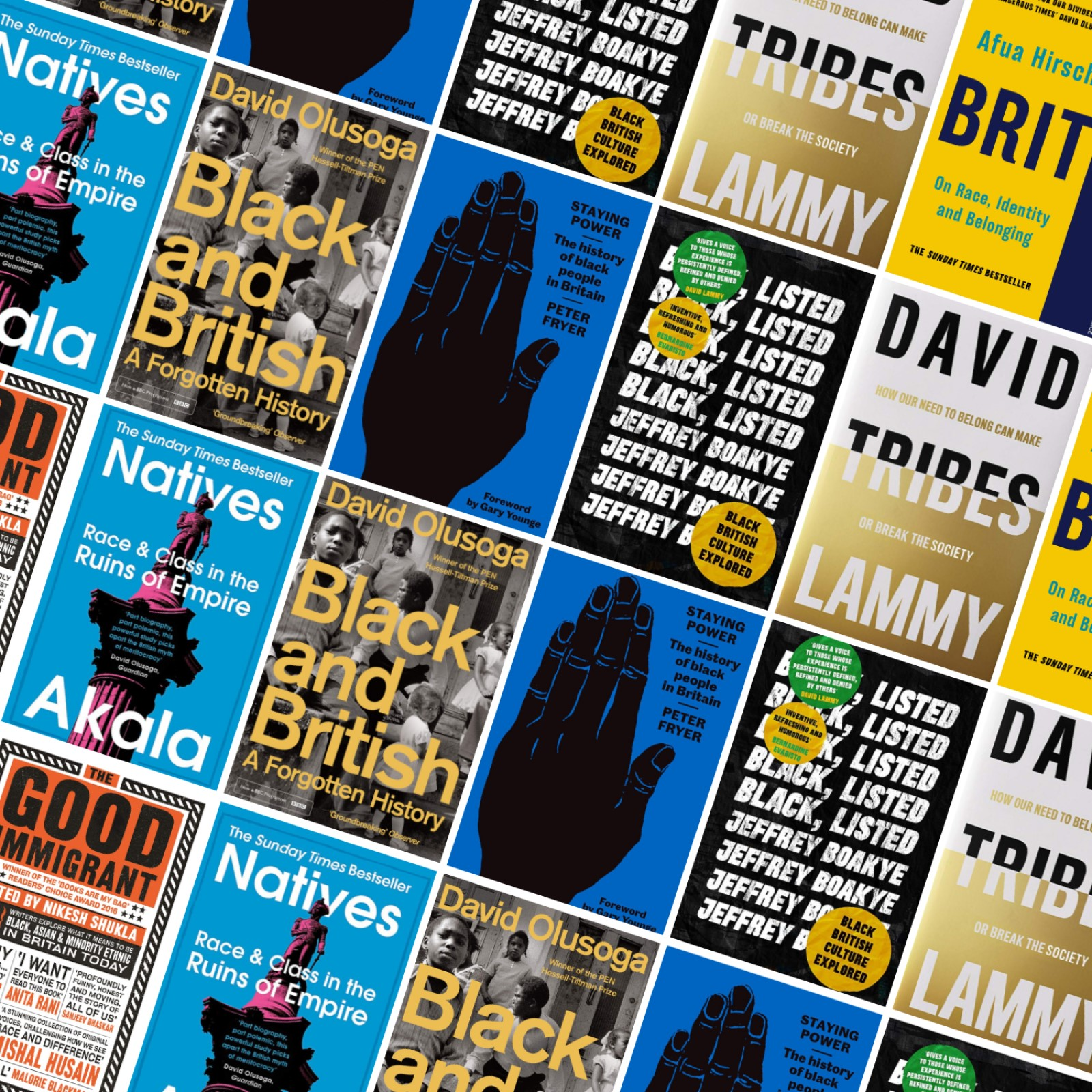 Books about being Black & British