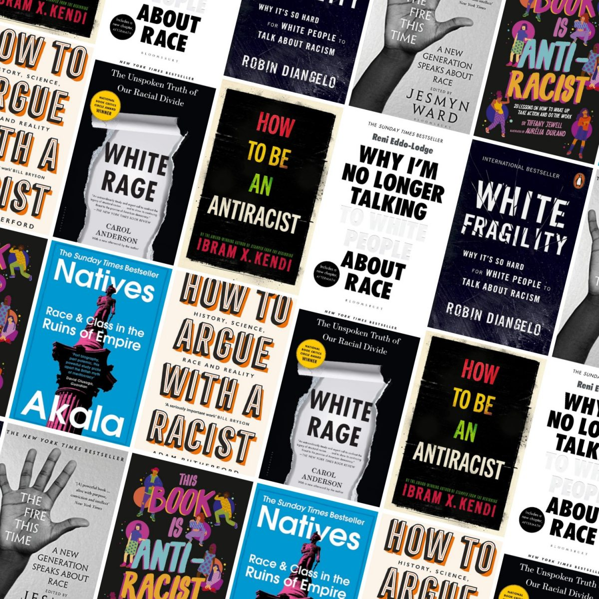 Books: New York Times Bestsellers on race and racial inequality