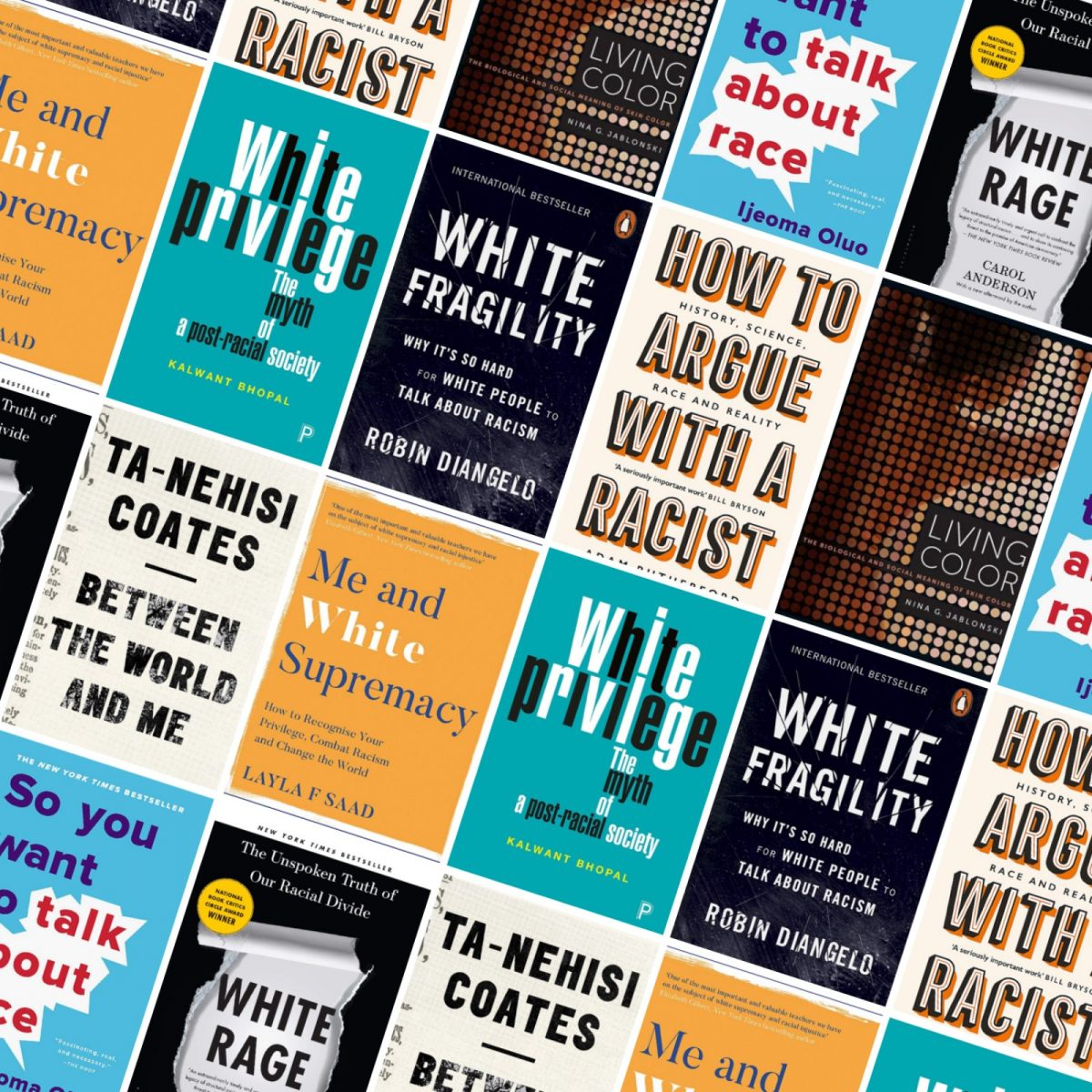 Books on Understanding Whiteness